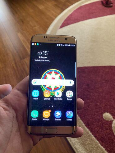 Samsung Galaxy S7 Edge Duos | 32 GB | qızılı | İşlənmiş | Sensor, Barmaq izi, İki sim kartlı