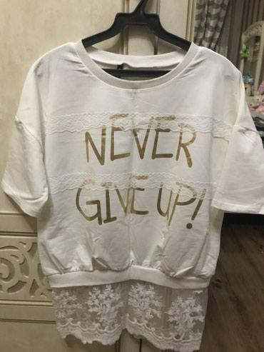 женскую футболку в Кыргызстан: Продаю футболку,новая