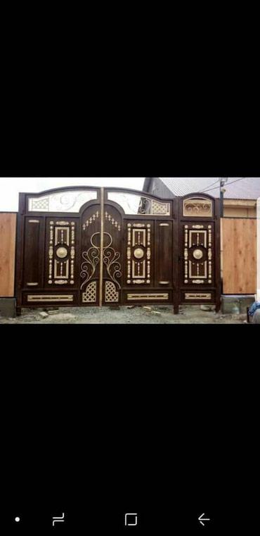 Ворота тапчан навес арка решетка в Бишкек
