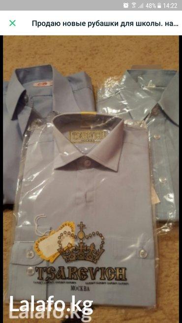 Продаю рубашки на 1- 2 кл. рост 130 см в Бишкек