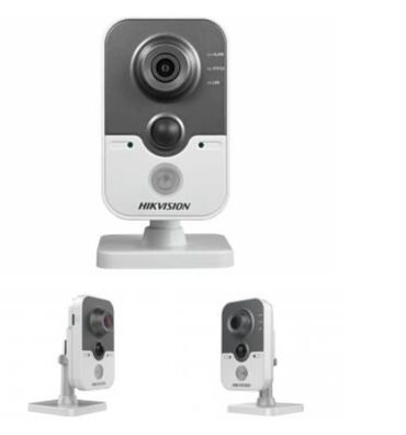 "Ip камеры 3 1 мп wi fi камеры - Кыргызстан: Продаю 4 шт камеры ""HIKVISION""DS-2CD2432F-IW3Мп компактная IP-камера"