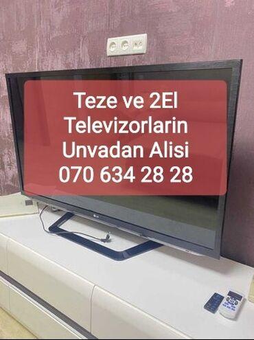 İşlənmiş ve Təzə Televizorları ünvandan Yüksək qiymətlə Alışı satmaq
