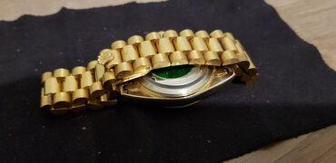 Qızılı Qol saatları Rolex