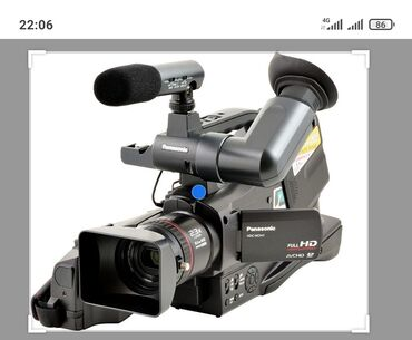 Видеокамеры qihan - Кыргызстан: Камера Панасоник профессиональное подайдет для всёго пишет на флешку