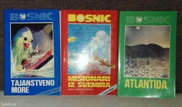Komplet knjiga ahmeda bosnića, - atlantida - tajanstveno more - mision - Batajnica