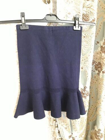 Женская юбка. Ткань: шерстяной трикотаж. Производство: Турция Размер