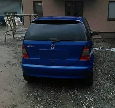 биндеры 160 листов для дома в Кыргызстан: Mercedes-Benz A 160 1.6 л. 1999 | 224000 км