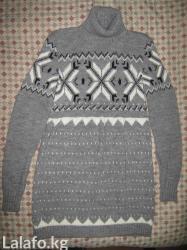 вязаное платье зимнее в Кыргызстан: Вязаное платьепроизводство турция размер стандартновое. длина