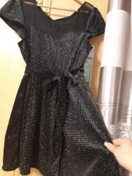 вечернее платье короткие в Кыргызстан: Чёрная, мощная,блестящая,короткое платье 🔥🔥🔥 (44-46-48)
