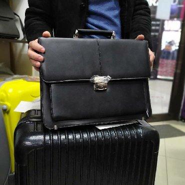 шикарнейшая распродажа сумок в Кыргызстан: Портфель мужской новый. Магазин сумок chemodany.kg : ул. Горького
