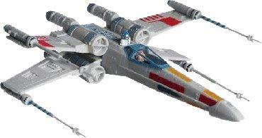 Modeli brodova   Srbija: Revell Star Wars X-Wing Fighter Kit 22 cm 1:57  Novo i neotpako