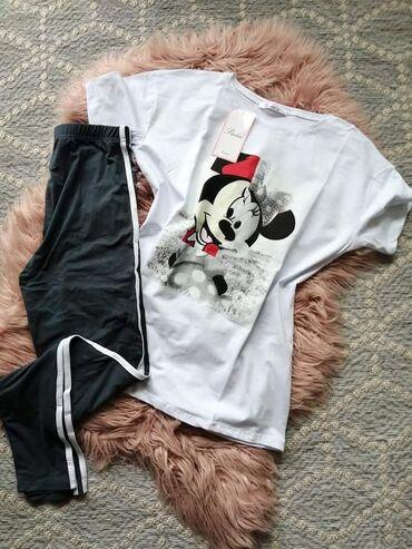 Ženska odeća | Novi Knezevac: Napravite svoju kombinaciju magicnih helanki majica/tunika koje se