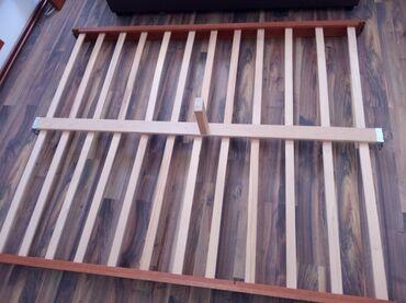 Kreveti | Arandjelovac: Bracni krevet, konstrukcija i dusek, 2m x 1.60m