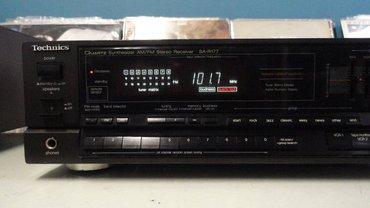 Bakı şəhərində Technics SA-R177 - Quartz Synthesizer AM/FM Stereo Receiver Technics S