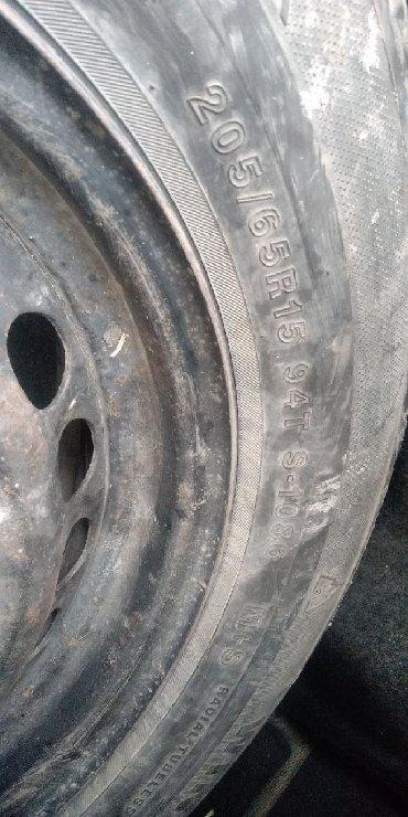 шины диски бу в Кыргызстан: Шины и диски БМВ Р15. 4шт. 5000сом