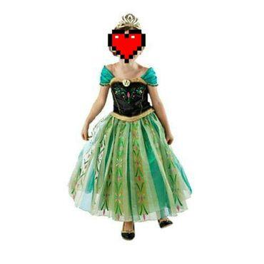 1950din Fenomenalan kostim Ana Frozen 130 5-7god  150 8-9god