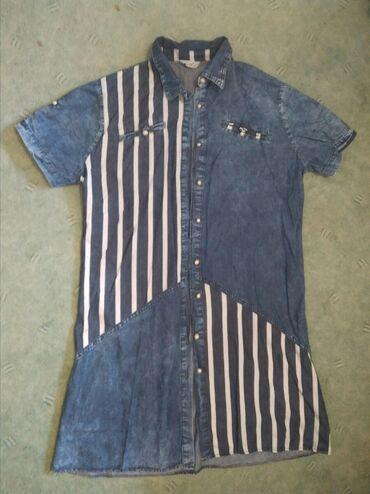 Платье- рубашка женская. Хлопок. Размер 50