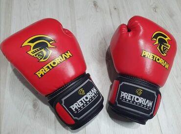 Rukavice - Vladicin Han: Bokserske rukavice PretorianIdealne za sparing i treniranjeCena 2100