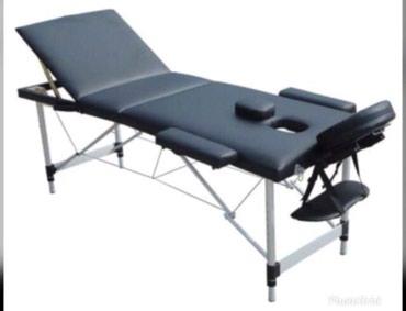 Sumqayıt şəhərində Masaj stolu. Polşa istehsalı. Uzunluğu:186-212. En: 60-82.