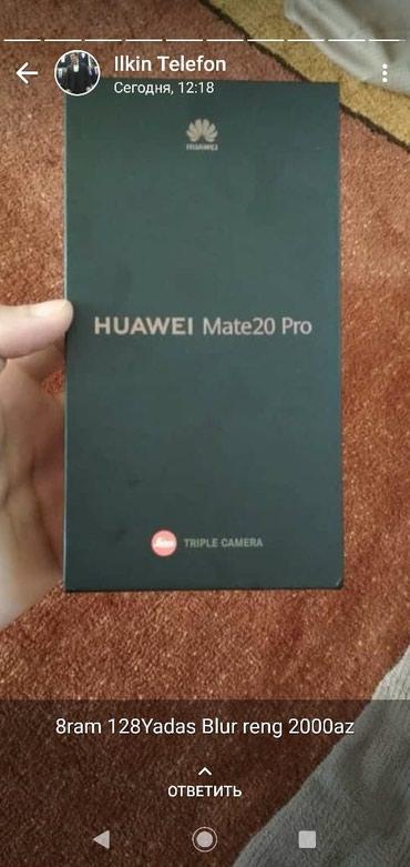 Huawei mate 20 pro 8GB RAM, 256 GB в Bakı