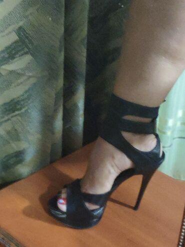 Туфли - Кыргызстан: Шикарные женские туфли/босоножки на высоком каблуке/танкетке в