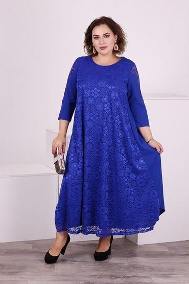 платья вечерние in Кыргызстан | МАТЕРИНСКИЕ ПЛАТЫ: Платье 62-64 р-р, полномерный размер, рост модели 172 см, новое