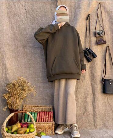 платья свободного кроя для полных в Кыргызстан: Худи платья толстовки по приемлемым ценам товар в наличии и на заказ