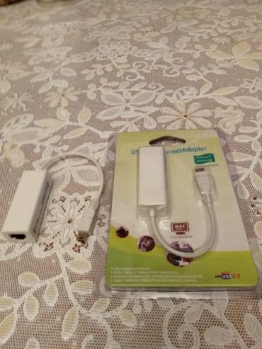 Bakı şəhərində Ethernet Adapter Mikro və Mini USB.RJ 45 Ethernet Qiriş  Mikro ayrı