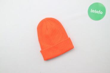 Жіноча помаранчева шапка     Напівобхват голови: 18 см Висота: 22 см