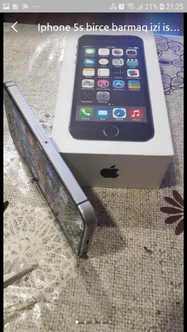 iphone-5s-black - Azərbaycan: Ayfon 5 s satiram . telefonun usdunde argenal adabtorunu ve qutusunu