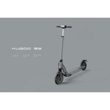 Kugoo S3 Jilong ЧёрныйНовая версия электросамоката Kugoo S3 от Jilong