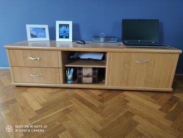 Kuća i bašta | Backa Palanka: Prodajem komodu za TV stanje kao na slikama, dimenzije 165x52x44