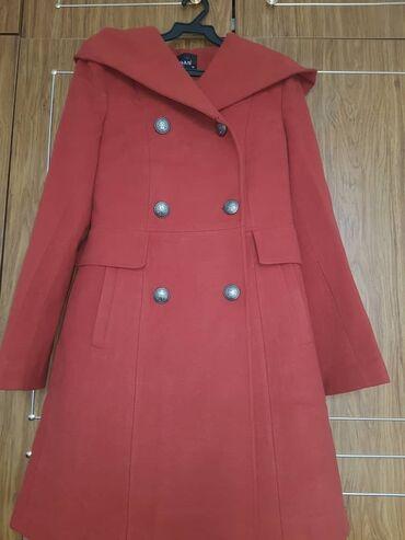 Продаю каш-е пальто Турция, новое. Брала за 6500. Цвет терракотовый