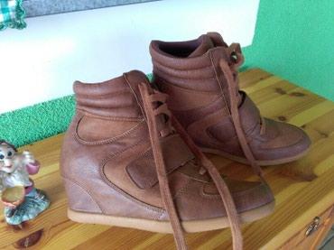 Sa skrivenom petom - Srbija: Cipele sa skrivenom.petomjednom nosene vidi slike,39 pise broj al je