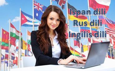 İngilis, Rus, İspan, İtalyan dilinde mükəmməl şəkildə yeni öyrənmək m