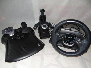 джойстик от ps3 к компьютеру в Кыргызстан: Игровой руль для ПК И PS3