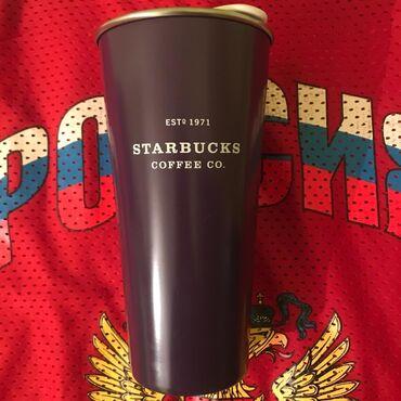 """сумку термос в Кыргызстан: Термос,Starbucks """"Настоящий термос от Starbucks,нержавеющая сталь"""