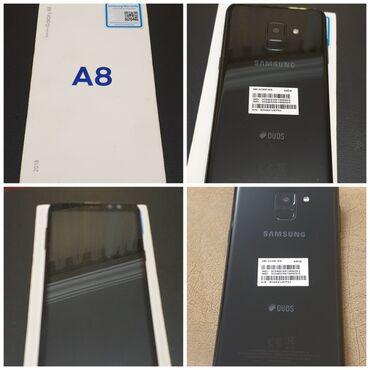 Yeni Samsung Galaxy A8 64 GB qara