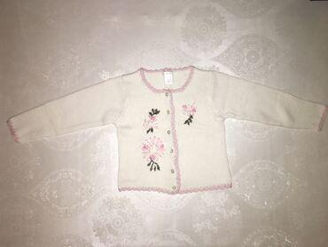 одежда детская купить в Кыргызстан: Кофта 100% cotton Вязанная Возраст: 4-5 лет Состояние: отличное, почти
