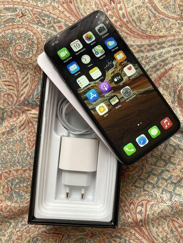 сколько стоит iphone 7 in Кыргызстан   APPLE IPHONE: IPhone 11 Pro Max   256 ГБ   Зеленый Б/У   Беспроводная зарядка, Face ID