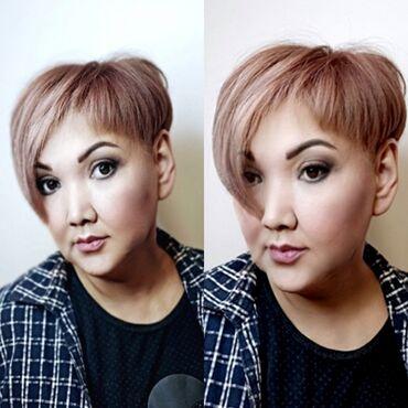 Мода, красота и здоровье в Душанбе: Стрижка Пикси, покраска волос