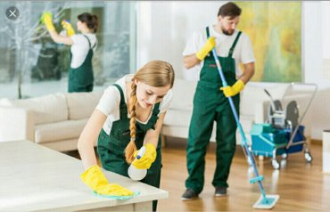 Xırdalan şəhərində Tecilli beyler ve xanimlar ucun muxtelif mekanarda  ev temizleyici