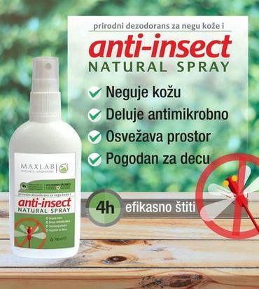 Anti insekt Potpuno PRIRODNI sprej na bazi citrusa i koloidnog srebra - Belgrade