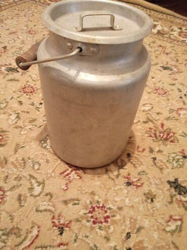 Ведра - Кыргызстан: Бидон советский алюминиевый. Объём 3 литра. Состояние отличное!