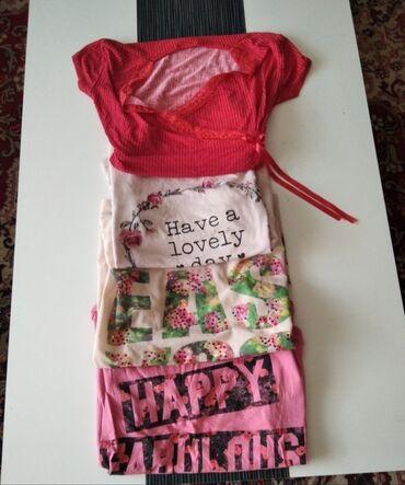 Personalni proizvodi - Jagodina: Majice 4 komada za 500 dinara. Bez ostecenja, slabo koriscene. Dve su