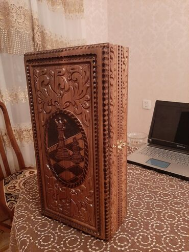 super maz - Azərbaycan: Əl işi nərd taxta satilir!Qoz ağacindan hazırlanıb.Yenidir.Satişda