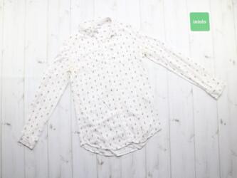 Женская рубашка в якорь Oodji,р.S Длина: 69 см Рукава: 51 см Пог: 38 с