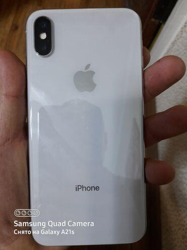 где можно купить клюкву в Кыргызстан: Б/У iPhone X 64 ГБ Белый