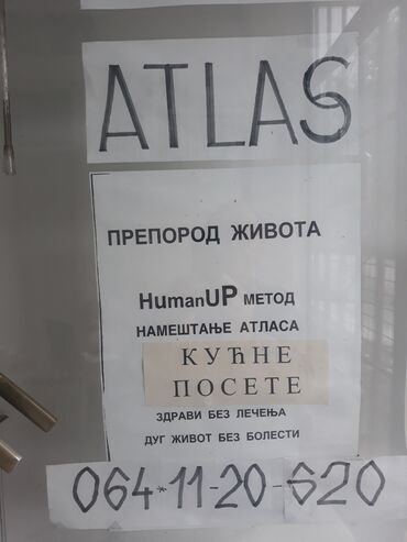 Masaza - Srbija: NAMESTANJE ATLASA I UNIKATNE MASAZE-SIGURNA ZASTITA OD KOTONE I SVIH