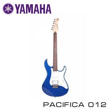 Музыкальные инструменты - Бишкек: Электрогитара YAMAHA Pacifica 012. YAMAHA Pacifica 012 – это модель